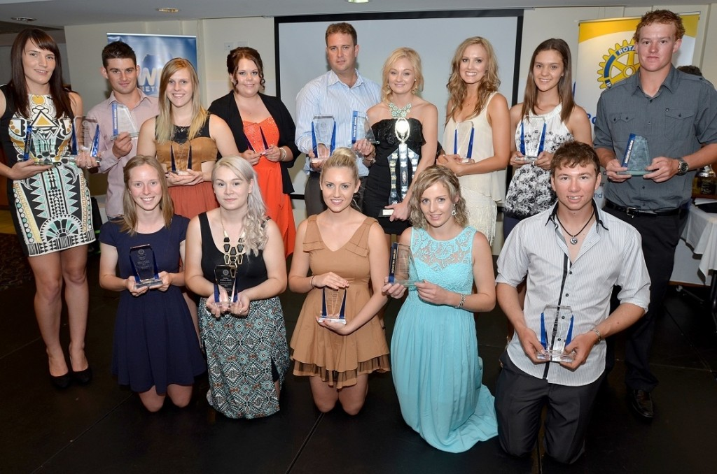 Riverland Vocational Award recipients